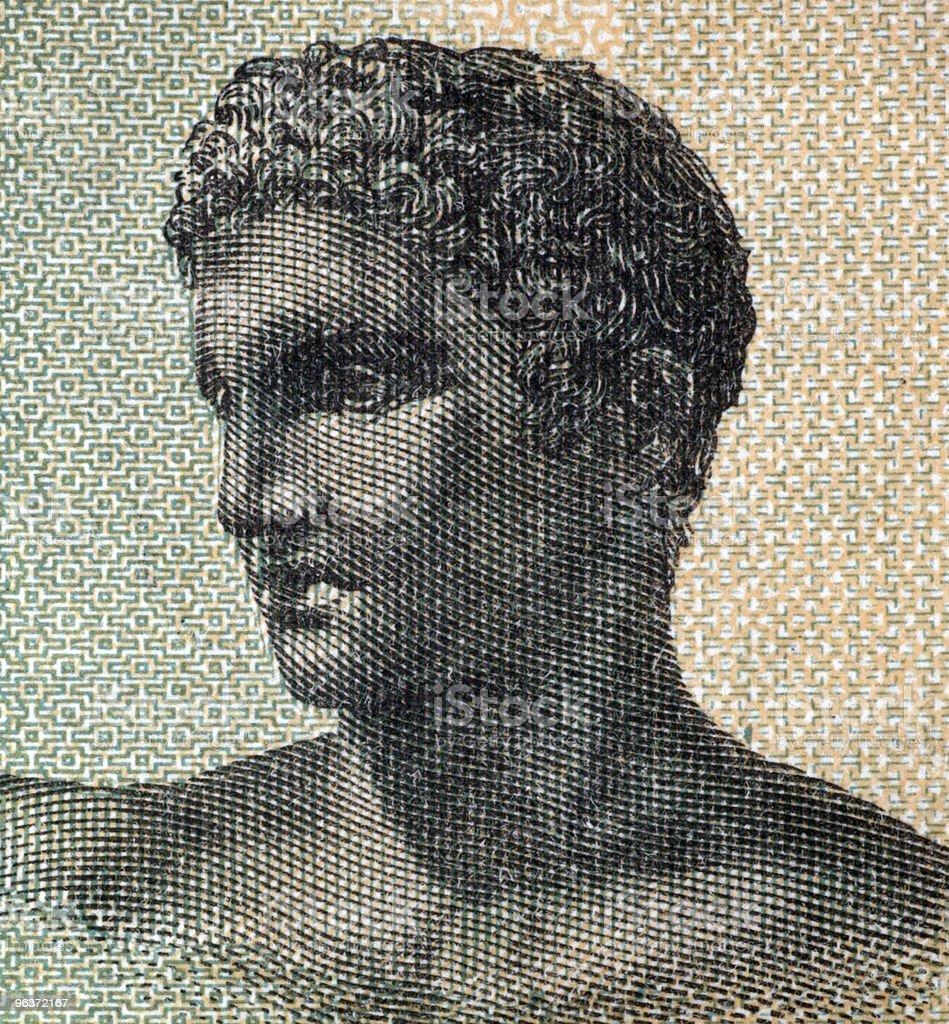Ancient Greek Teenager stock photo