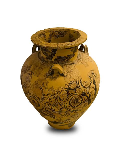 Ancient Greek Vase Isolated stock photo