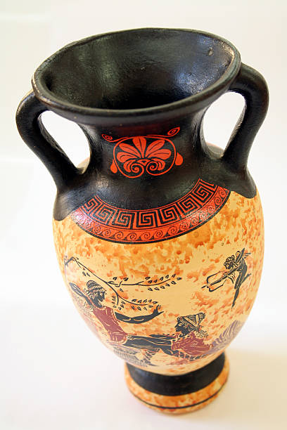 Antike griechische vase – Foto