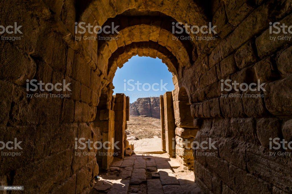 Antik koridor royalty-free stock photo