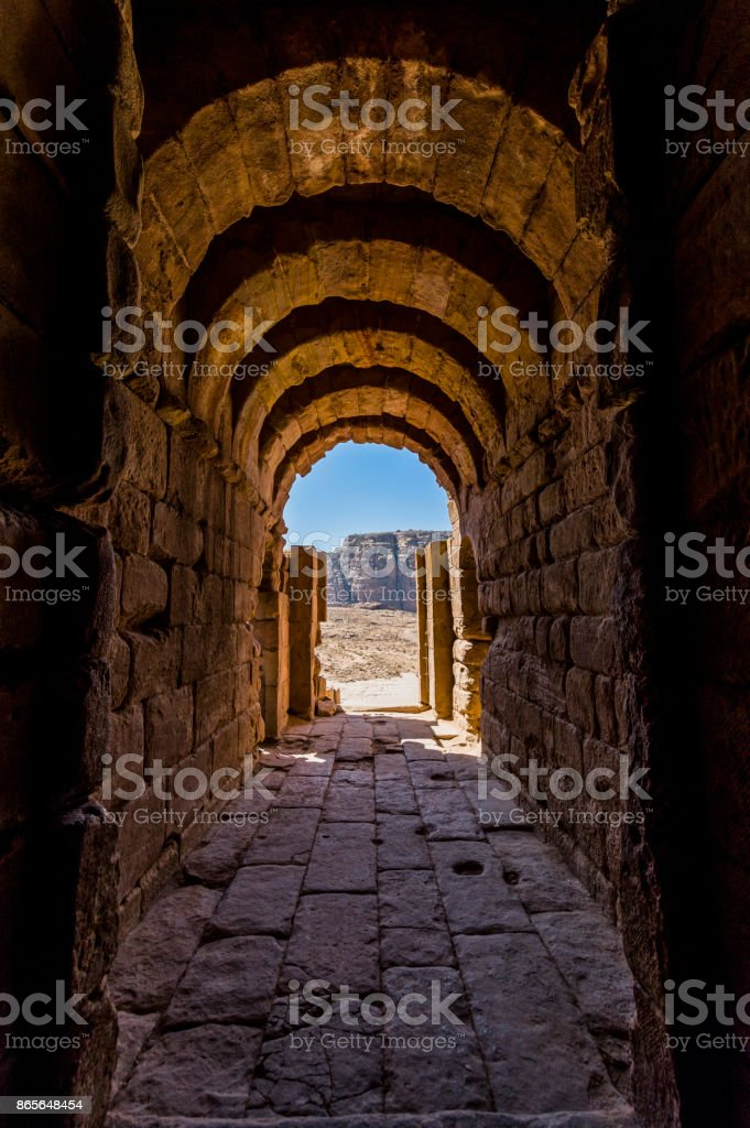 Antik koridor royalty-free stock photo