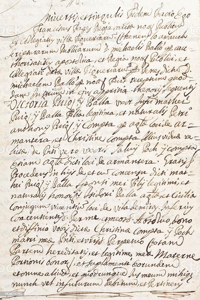 Antiguo fondo de texto escrito a mano fotograf a de for Fondos de escrito