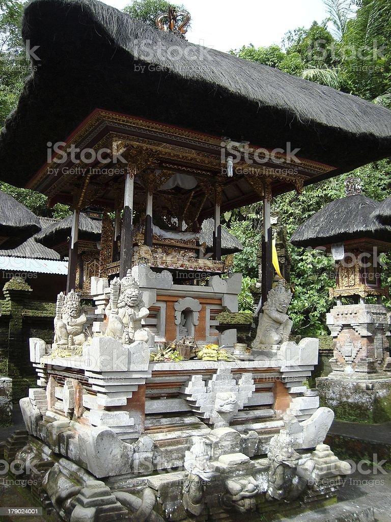 Ancient Hindu temple in Gunung Kawi, Bali  royalty-free stock photo