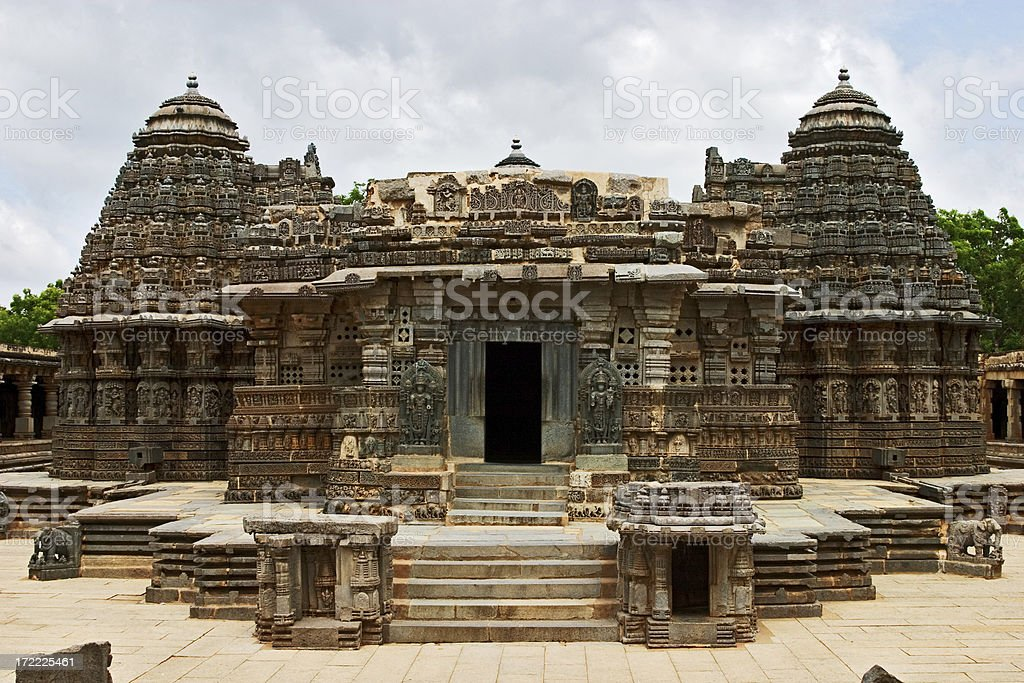 Ancient Hindu Temple royalty-free stock photo