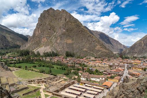 istock Ancient Inca Ruins Of Ollantaytambo In Peru 1089565924