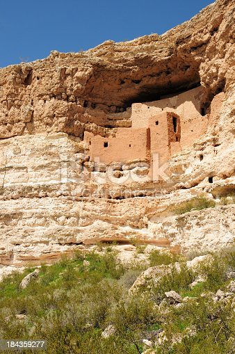 Montezuma Castle Ancient Indian Ruins.