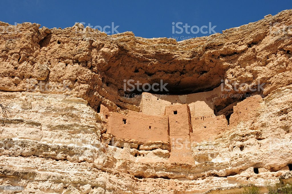 Ancient Indian Ruins stock photo