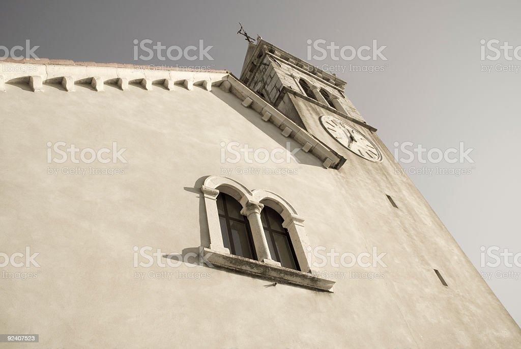 Ancient Italian Church royalty-free stock photo