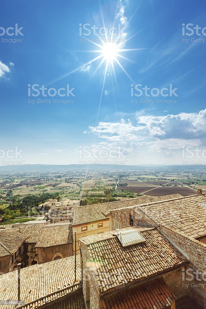 Ancient Italian Town royalty-free stock photo