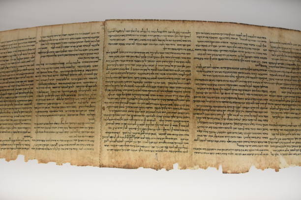 ancient jewish scrolls - scroll stock photos and pictures