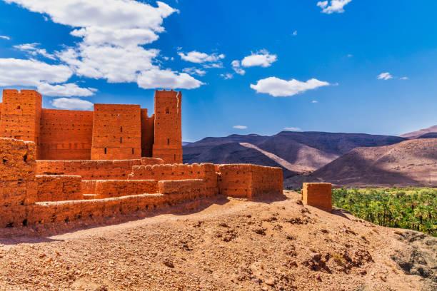 antika kasbah i marocko - kasbah bildbanksfoton och bilder