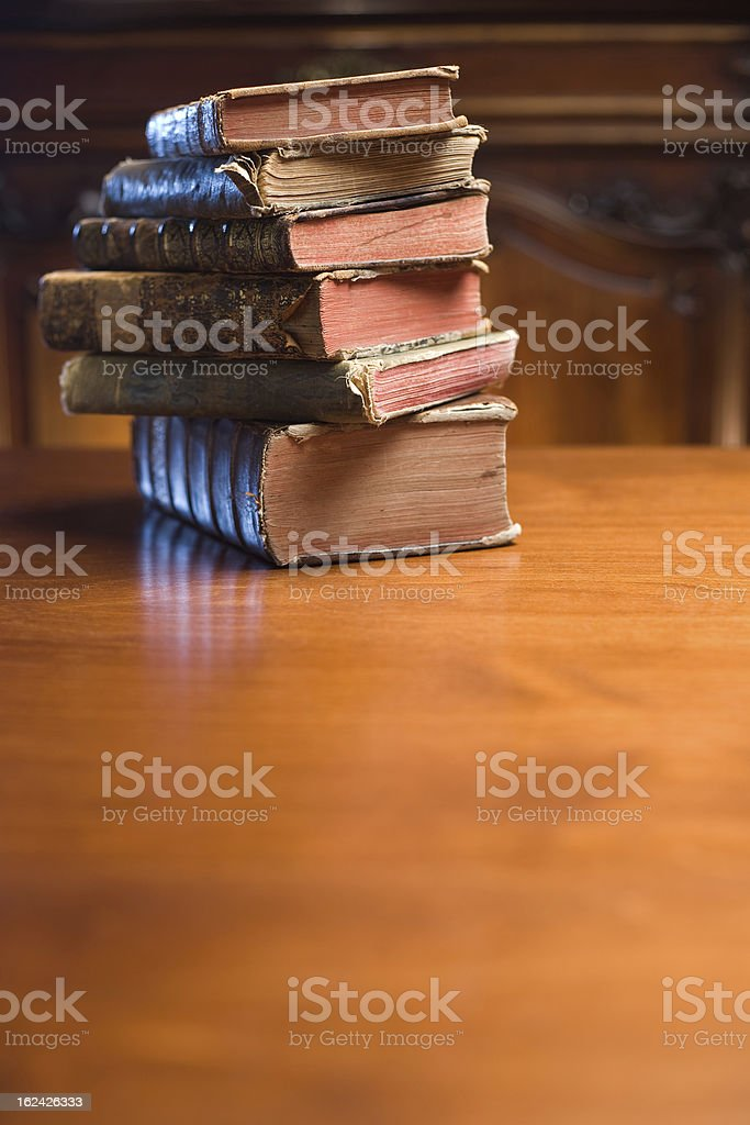 Ancient knowledge. royalty-free stock photo