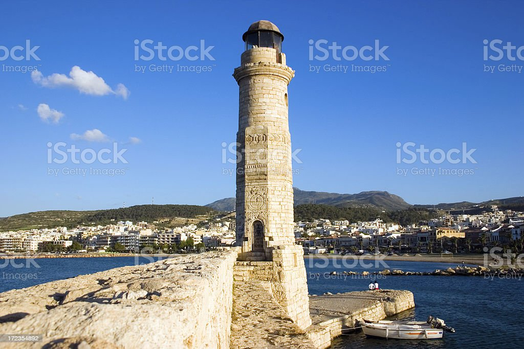 Ancient Lighthouse royalty-free stock photo