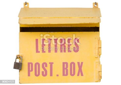 istock ancient mailbox in france 90824121