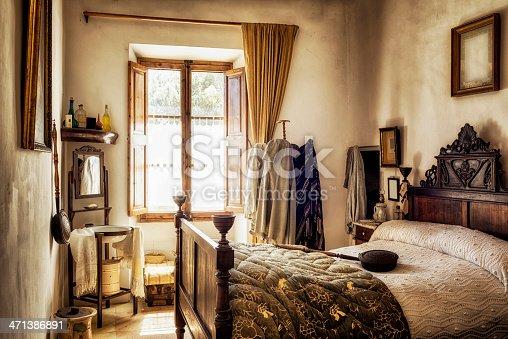 istock Ancient majorcan bedroom 471386891
