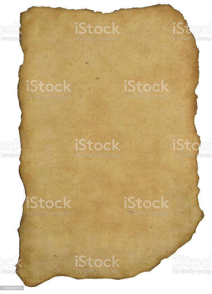ancient manuscript royalty-free stock photo