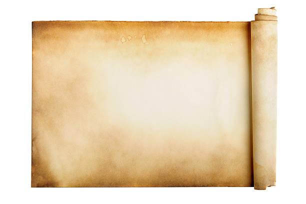 ancient manuscript - scroll stock photos and pictures