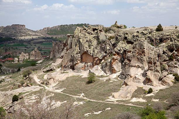 Ancient Midas City stock photo