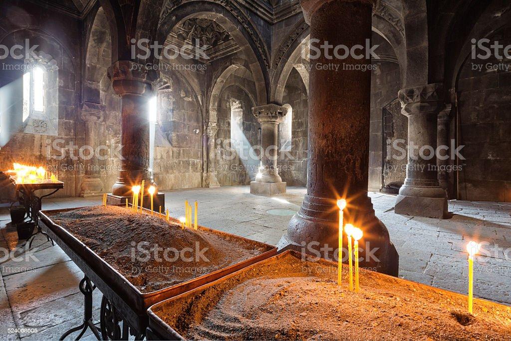 Ancient Monastery, Armenia stock photo