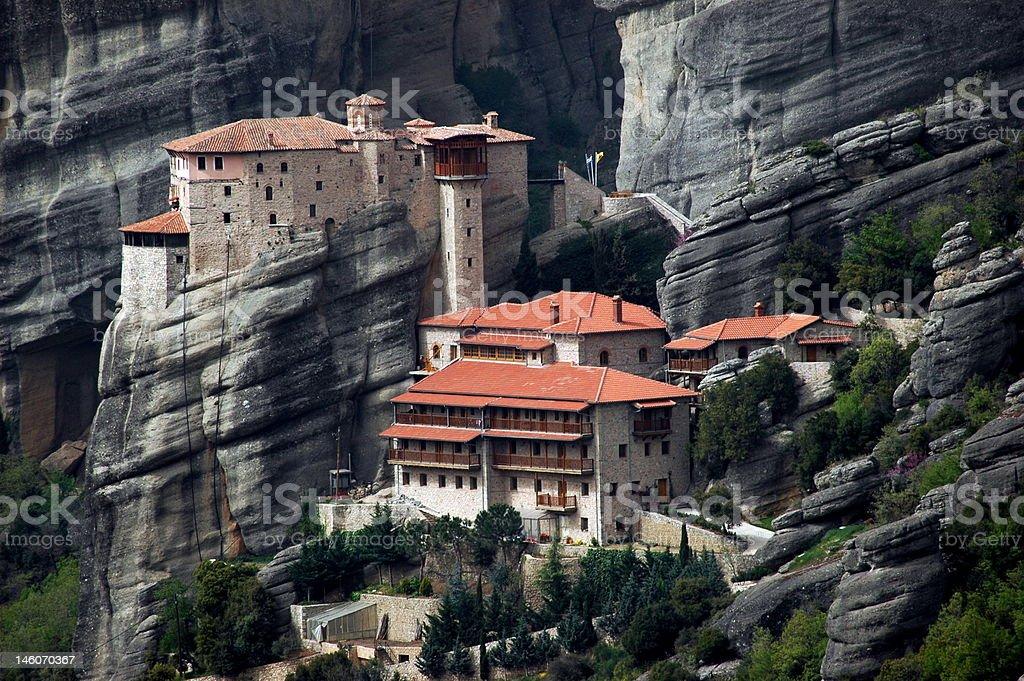 Ancient Monastery stock photo