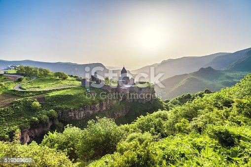 istock Ancient monastery. Tatev. Armenia 519369652