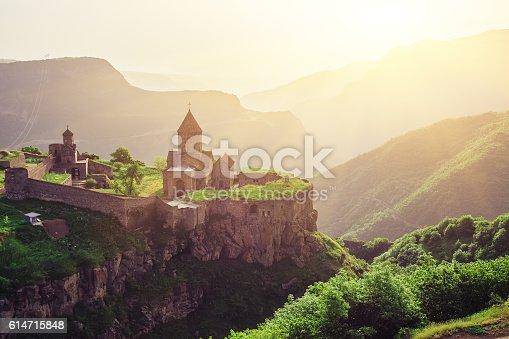 istock Ancient monastery. Tatev. Armenia 614715848