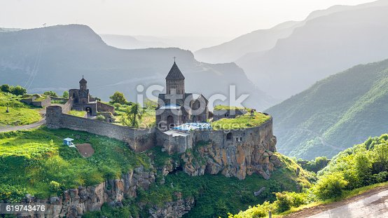 istock Ancient monastery. Tatev. Armenia 619743476