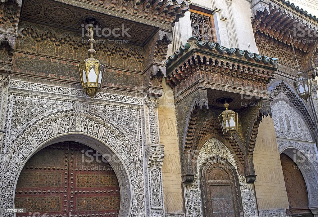 Ancient Mosque royalty-free stock photo