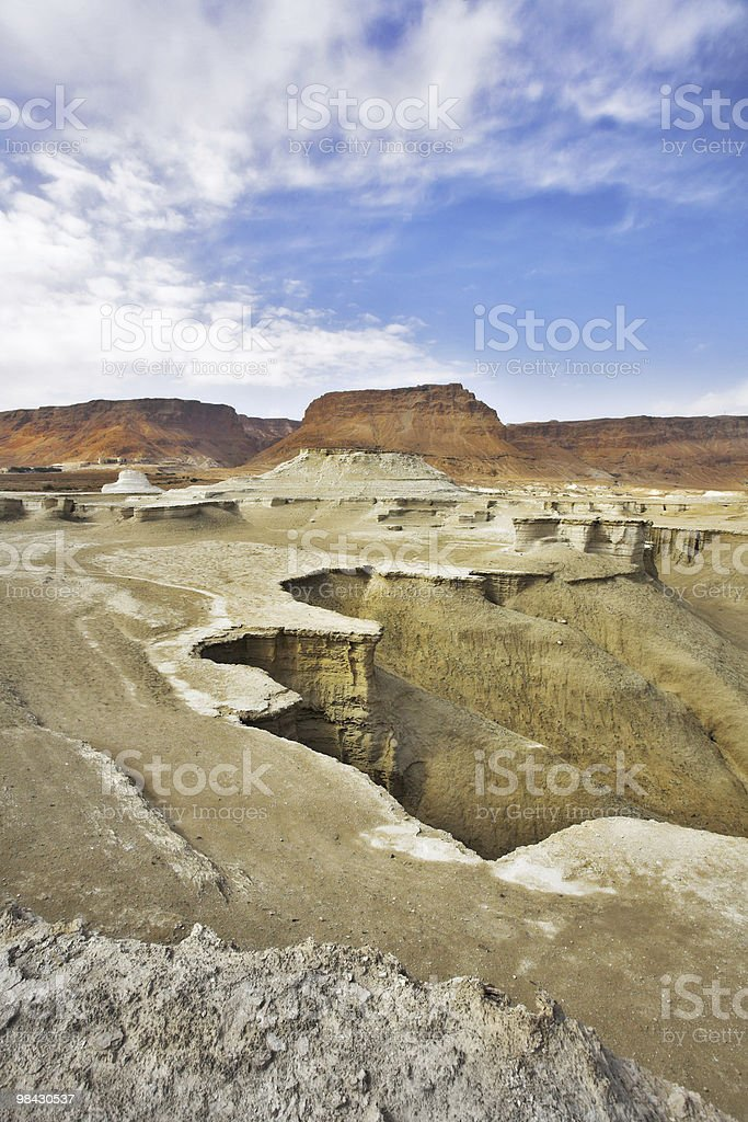 ancient mountains of the Dead Sea royalty-free stock photo