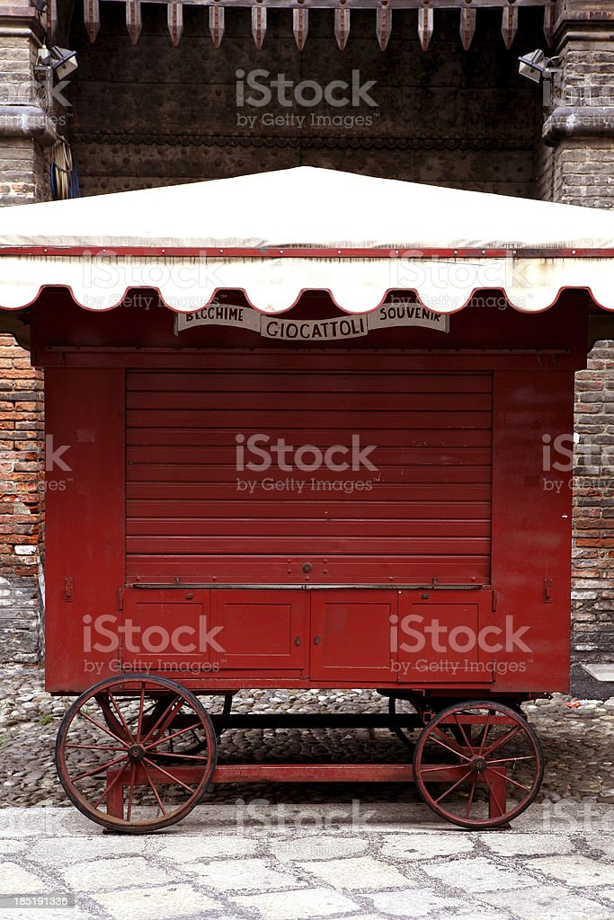 antica edicola stock photo