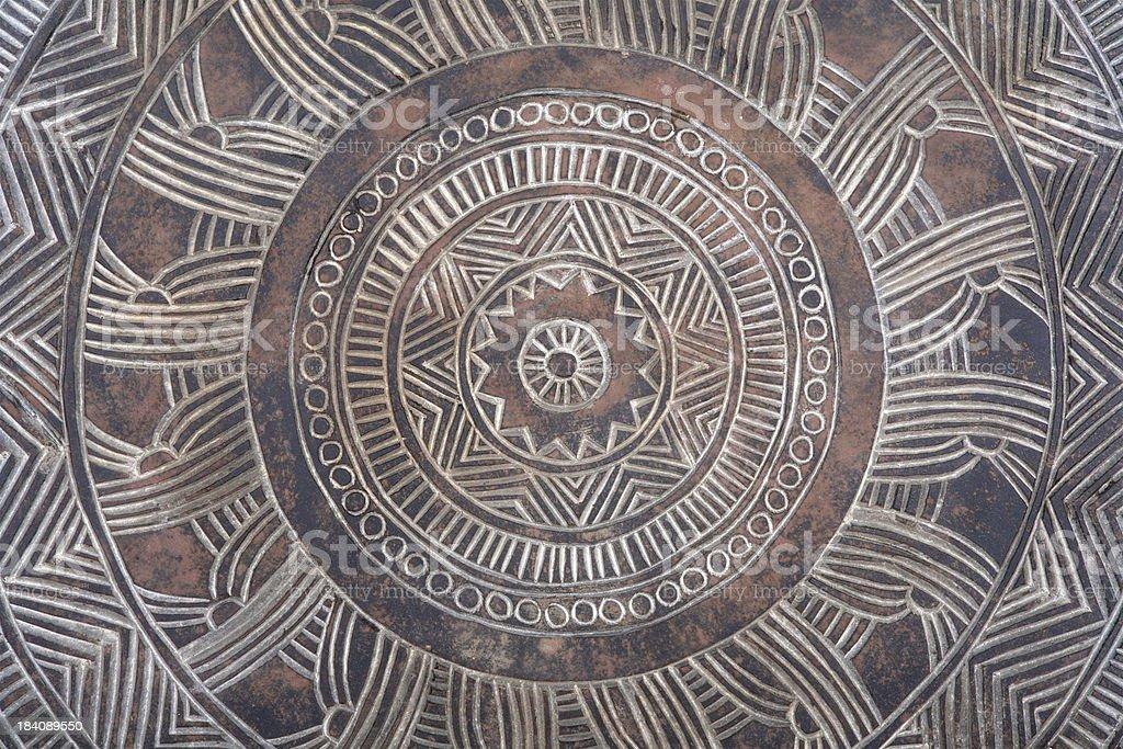 Ancient Pattern stock photo