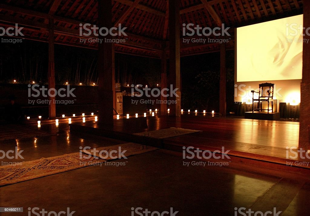 Ancient performance space royalty-free stock photo