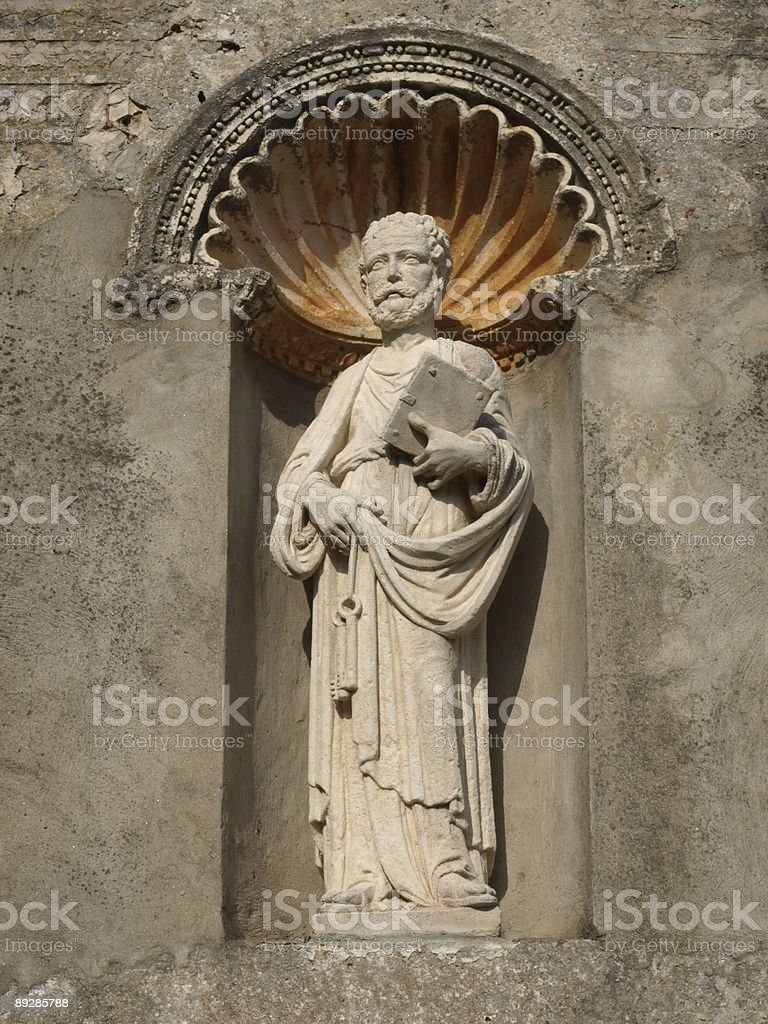 ancient philosopher royalty-free stock photo
