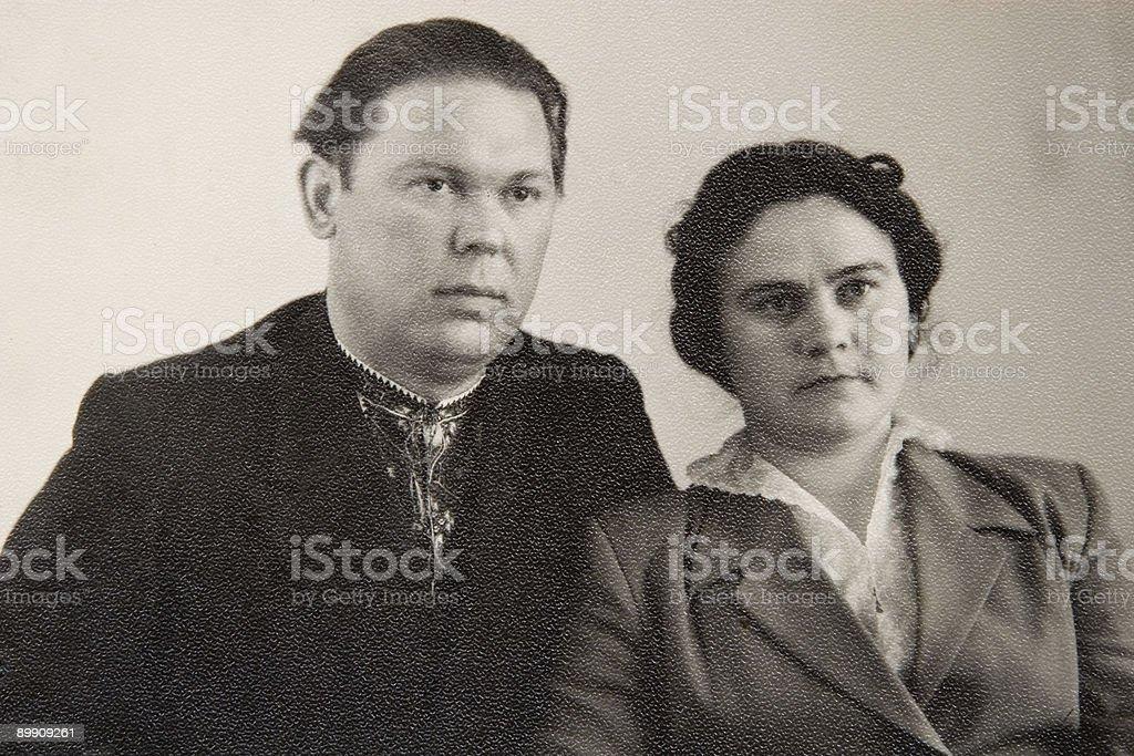 Ancient photo royalty-free stock photo