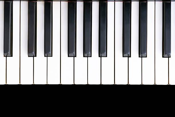 Clavier de piano ancien - Photo