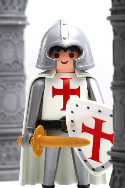 ancient plastic wars - knights templar stock pictures, royalty-free photos & images