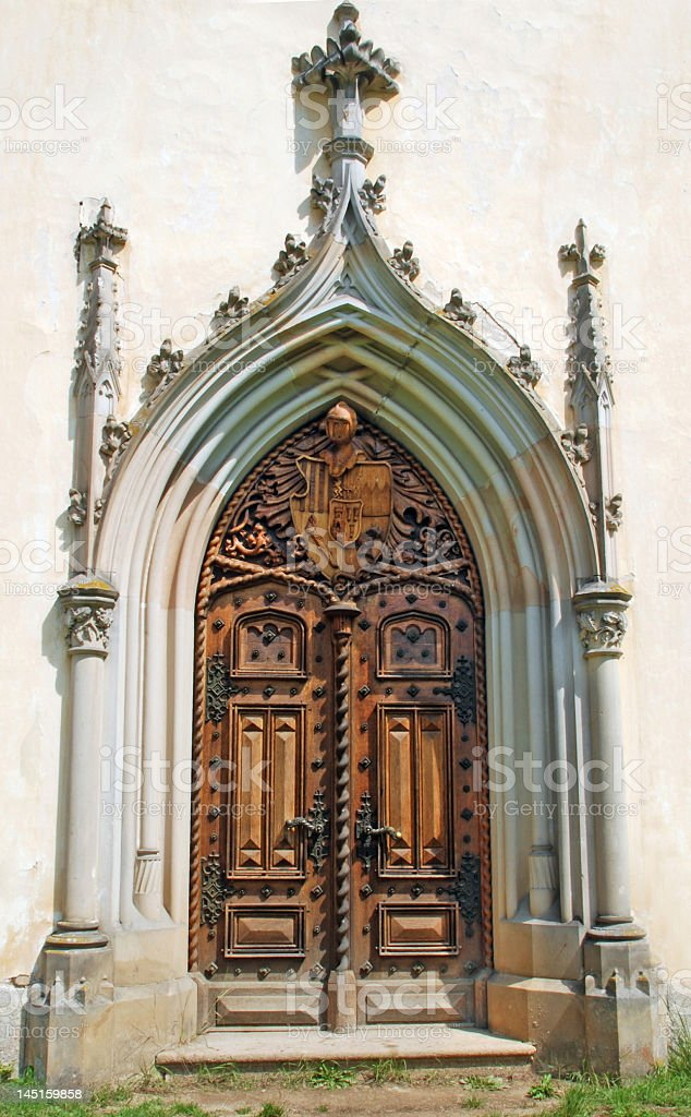 Ancient portal royalty-free stock photo