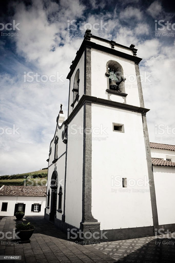 Ancient Portuguese Church royalty-free stock photo