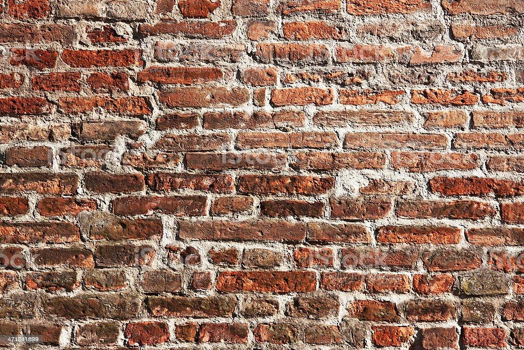 Rosso Antico Muro Di Mattoni Texture Sfondo Architettonico