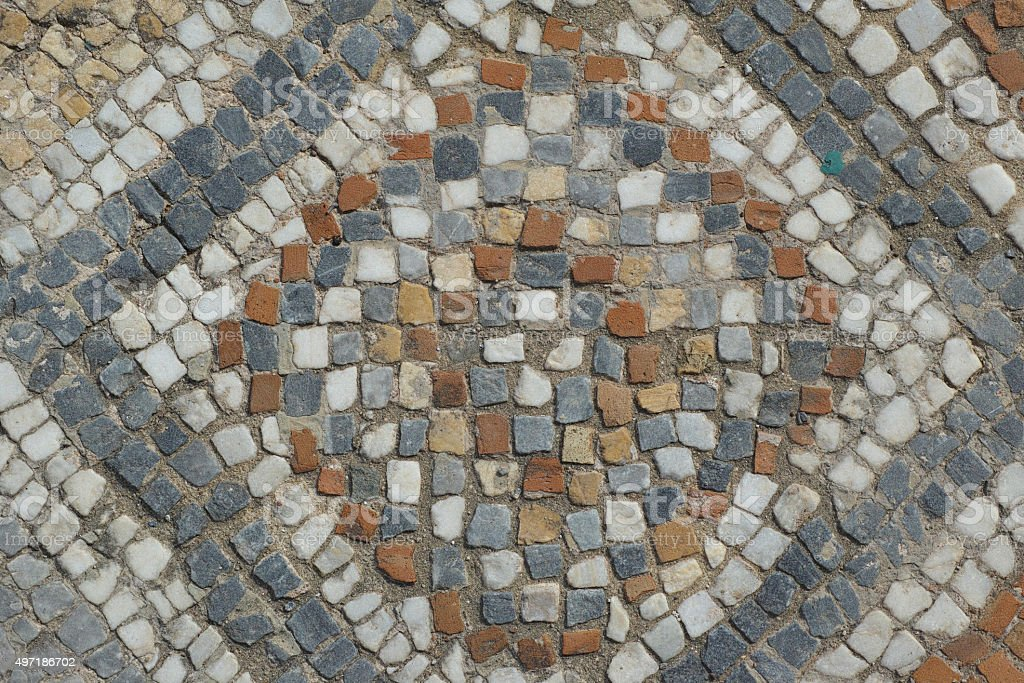 Ancient Roman Floor Mosaic Stock Photo More Pictures Of 2015 Istock