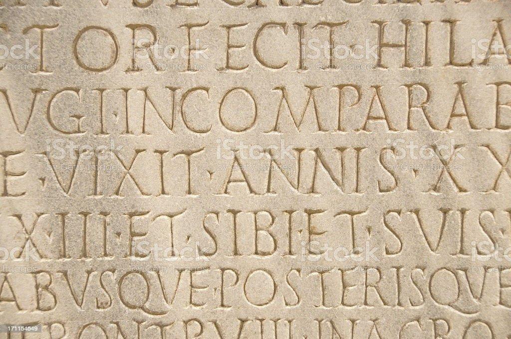 Scritta Romana Antica Fotografie Stock E Altre Immagini Di