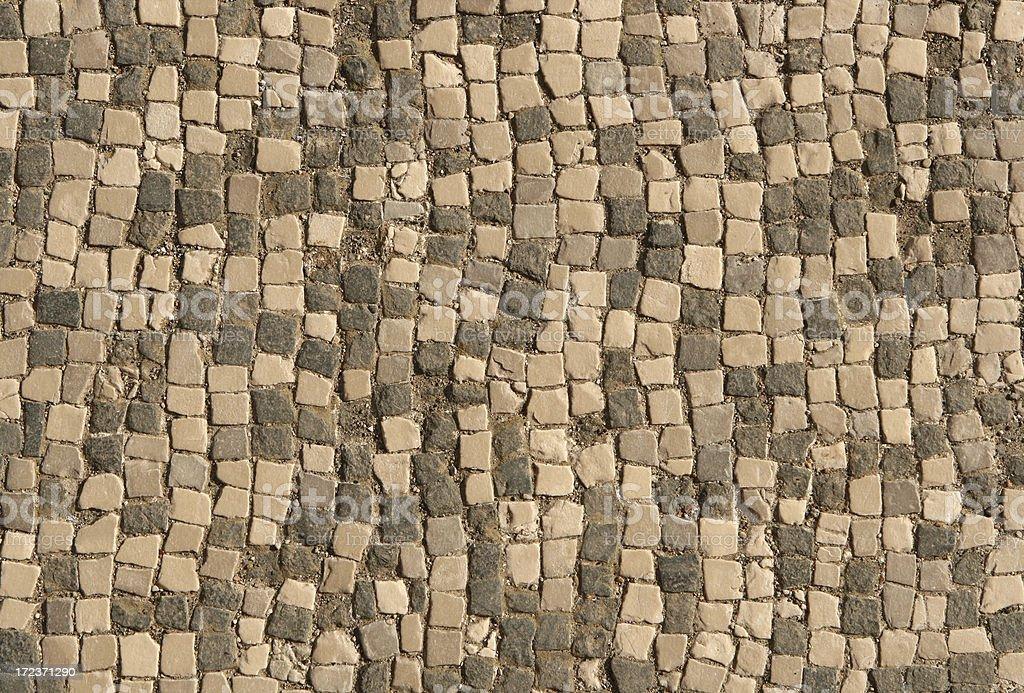 Antiche texture pavimento di marmo a mosaico romano roma italia