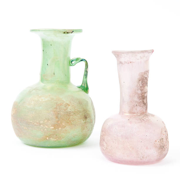 Ancient Roman Style Vases Isolated On White Stock Photo More