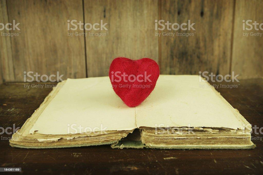 Ancient Romance Novel royalty-free stock photo