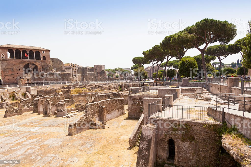 Ancient Rome Old Ruin Archaeology