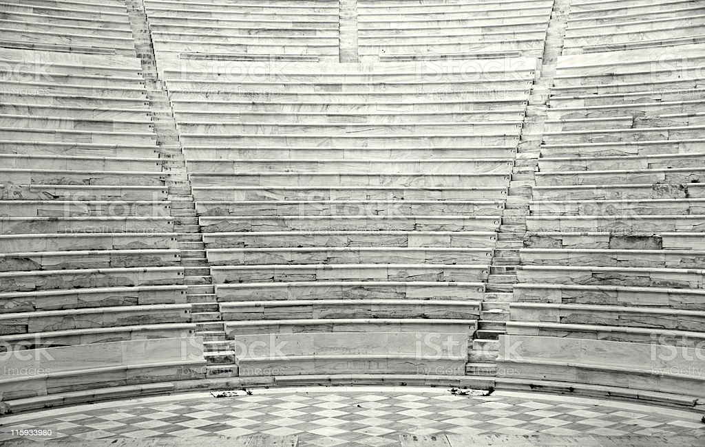 Ancient rows royalty-free stock photo