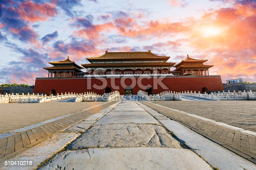 istock ancient royal palaces of the Forbidden City in Beijing, China 510410218