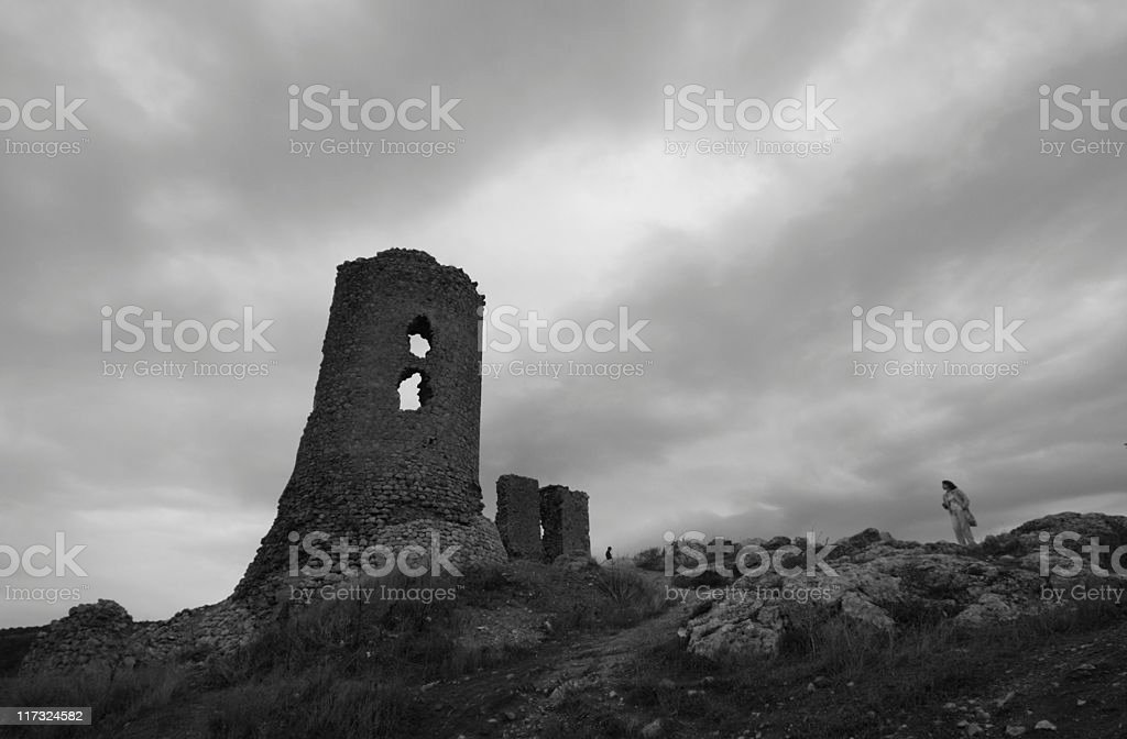 ancient ruin royalty-free stock photo