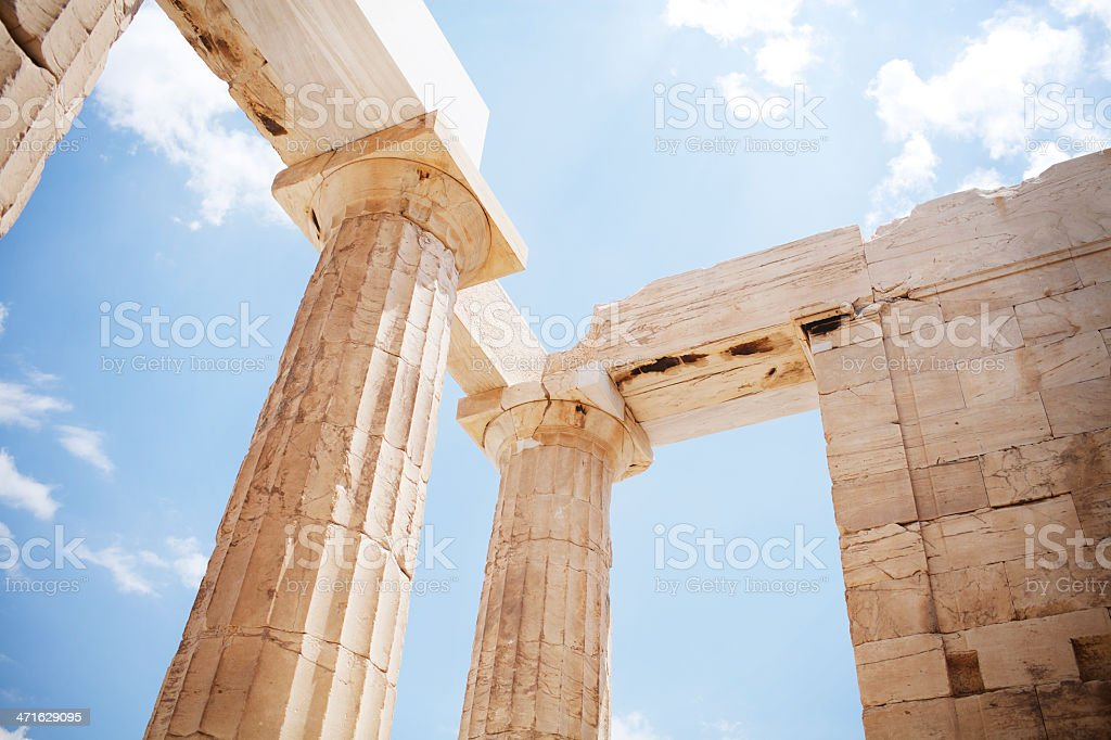 Ancient ruins, Greece royalty-free stock photo