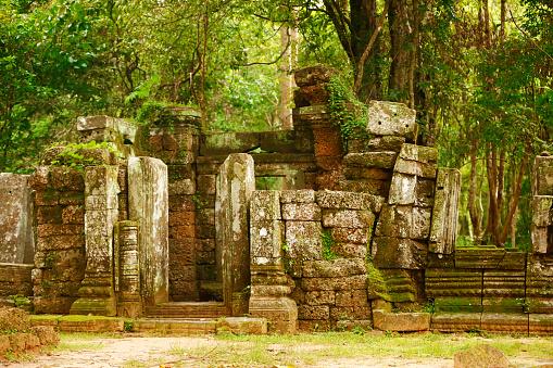istock Ancient Ruins in Cambodia 610116386